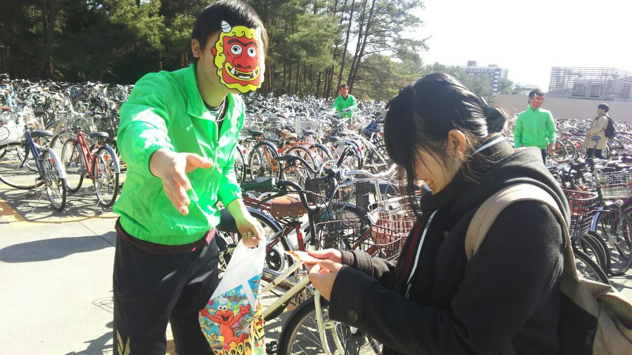 【広大CARP】喜ばせ隊(自転車整理)