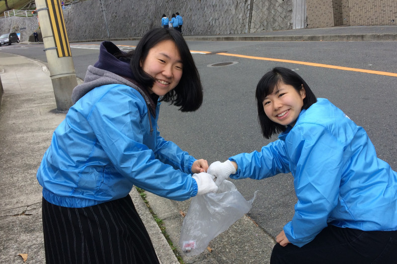 あいさつ清掃PJ【神戸大学CARP】