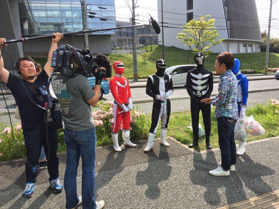 レンジャーがテレビ番組に出演!!【九州大学CARP】