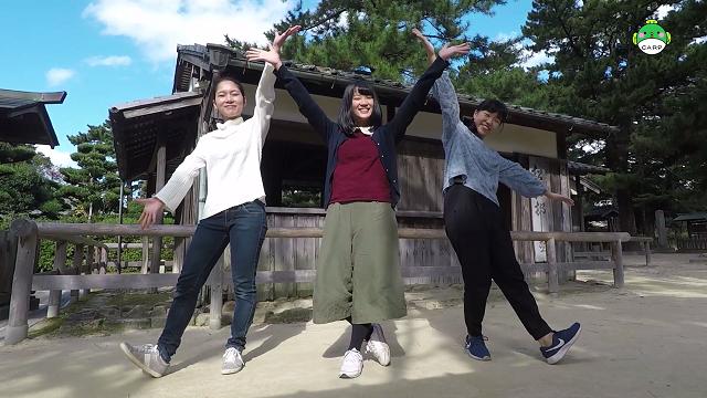 山口の名所が盛りだくさん、山口体操リニューアル動画【山口大学CARP】